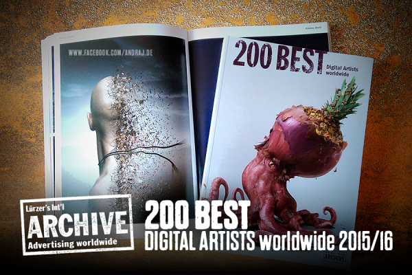 Luerzer Archiv - 200 BEST digital artists worldwide 2015/16